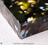 Sharp square corners of box frame print