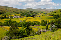 Summer View of Swaledale