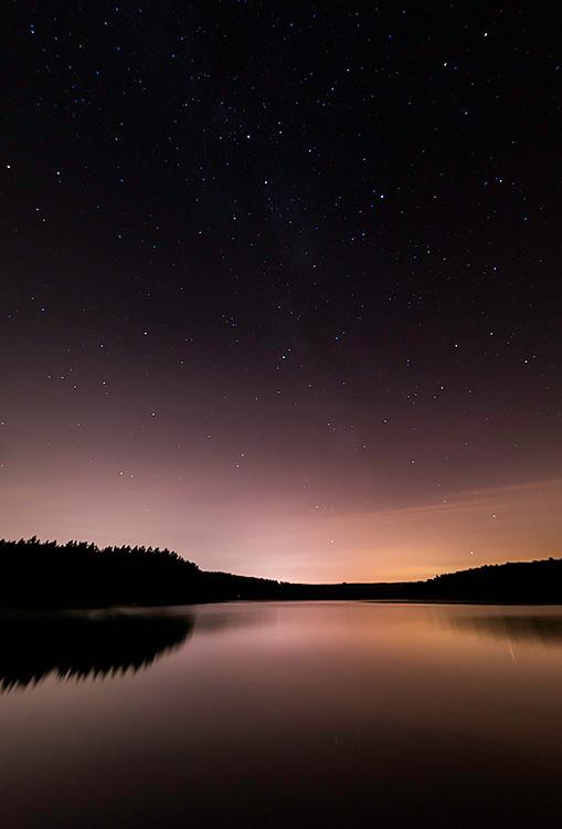 Swinsty Reservoir stars