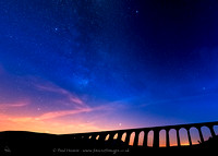 Starry night at Ribblehead Viaduct