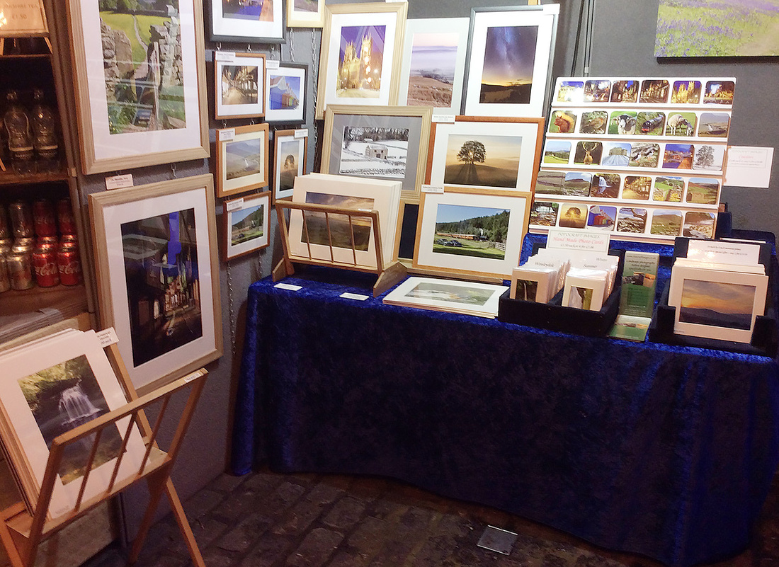 Fotocraft Images stand at the 2019 Made in Yorkshire Yuletide Market