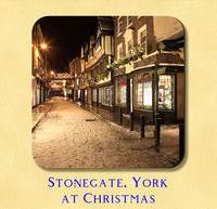 Stonegate, York at Christmas