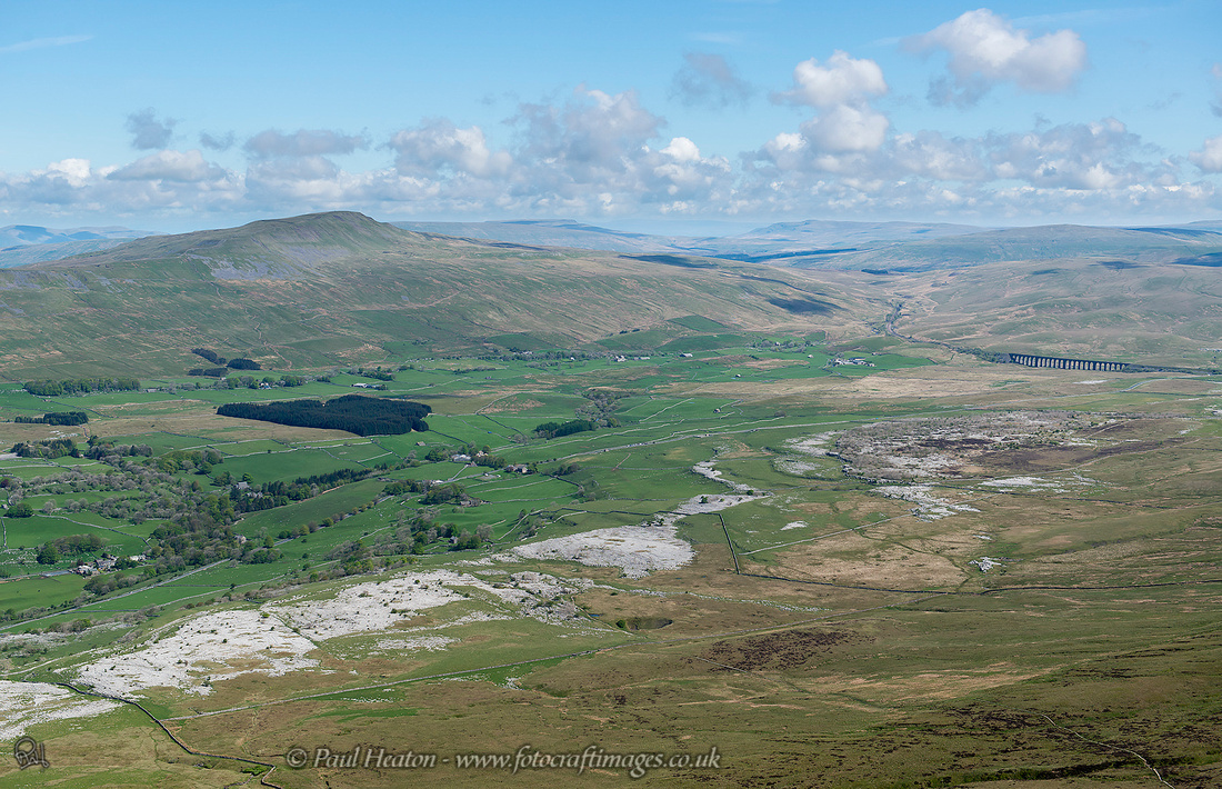 After the climb, the view... Ingleborough