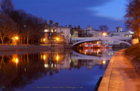 The River Ouse and Lendal Bridge, York