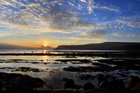 Sunrise over Robin Hood's Bay