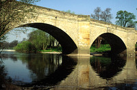 River Wharfe bridge in Boston Spa