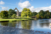 Autumn at Bolton Priory, Wharfedale