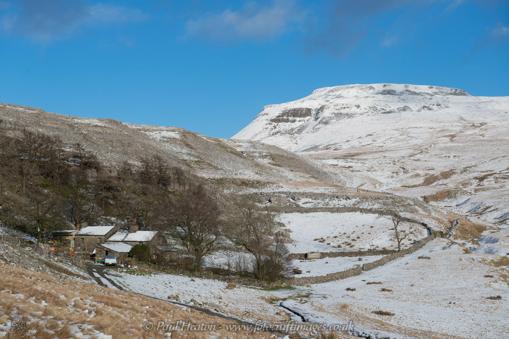 Ingleborough from Crina Bottom