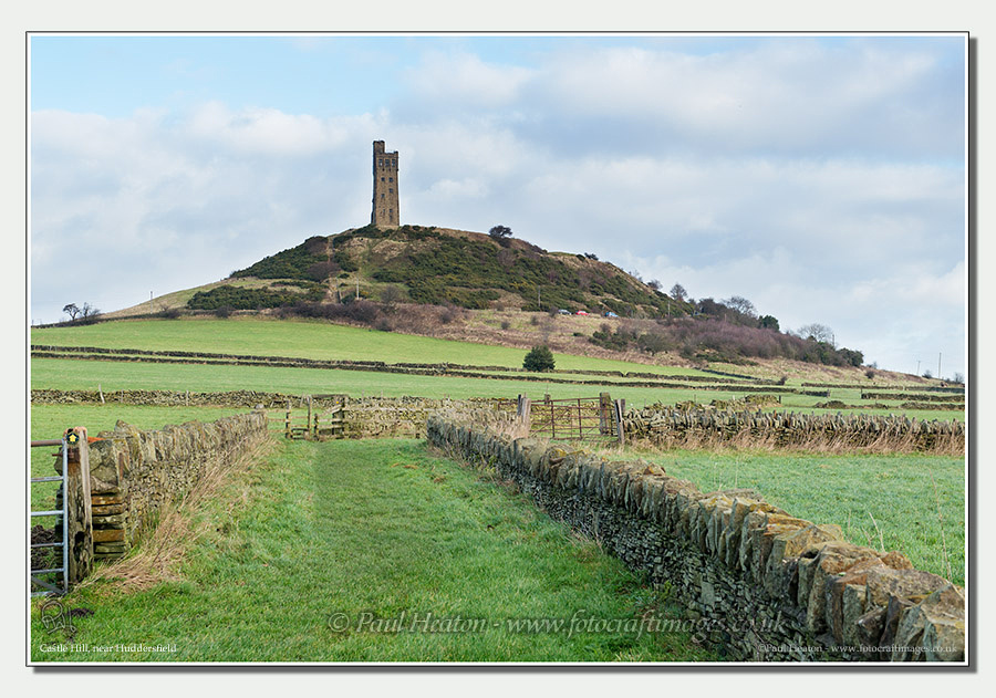Photo of Castle Hill near Huddersfield