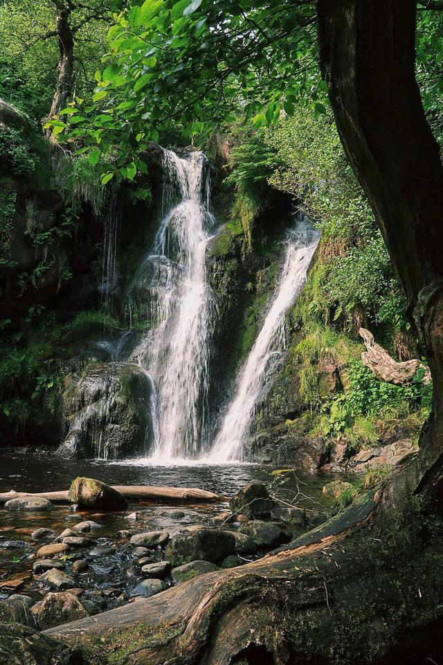 Posforth Gill waterfall