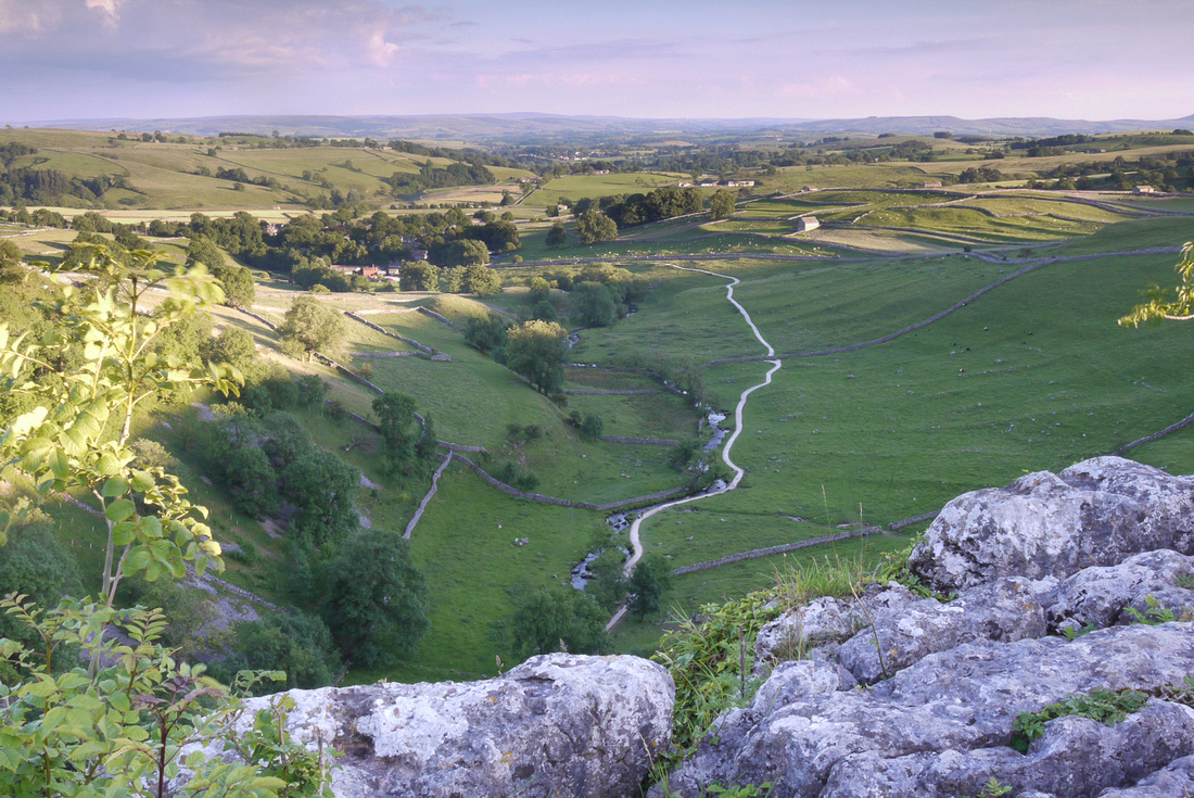 "e""View from Malham Cove"