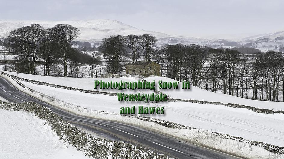 Wensleydale Snow video title