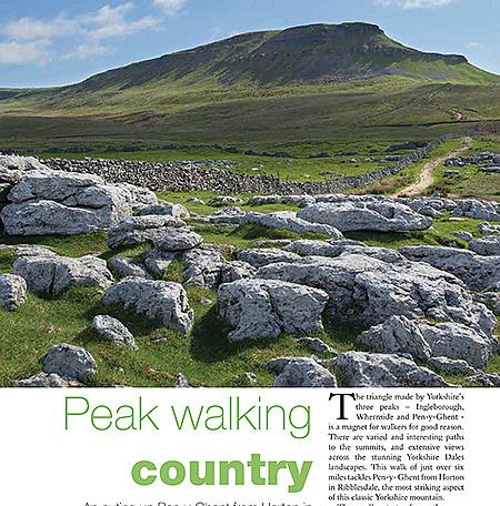 Pen-y-Ghent walk article picture