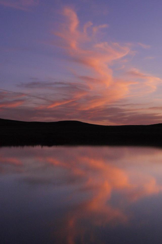 Malham Tarn Sunset