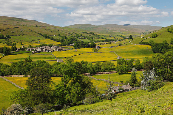 Fotocraft Images | Swaledale Photographs | Summer View of Swaledale